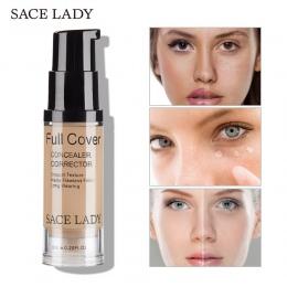 SACE LADY Twarzy Korektor Krem Pełna Pokrywa Ciecz Makijaż Korektor Fundacja Bazy Makijaż Dla Oczu Cienie Kosmetyczne Twarzy