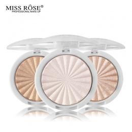 Panienko Wzrosła Glow Zestaw Wyróżnienia Makijaż Shimmer Powder Wyróżnienia Palette Podstawy Oświetlacz Kulminacyjnym Twarzy Con