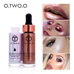 O. DWA. O Ciecz Wyróżnienia Make Up Wyróżnienia Cream Concealer Shimmer Twarzy Blask Ultra skoncentrowany oświetlania brązujący