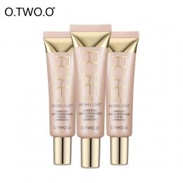 O. DWA. O Kremy Wyróżnienia Twarzy Makijaż Wodoodporny Biały Kontur Kremowa Konsystencja Shimmer Glow Rozjaśnić Ciecz Wyróżnieni