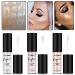 2018 Nowy Pocałunek Urody Marka Wyróżnienia Contour Kosmetyki Długotrwałe Twarzy Rozjaśnić Shimmer Glow Cieczy Mazaki Makijaż