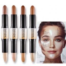 Shimmer Połysk Wyróżnienia Fundacja Oświetlacz Kij Bronzer Kontur Makijaż Pióro 3D Krem Do Twarzy Kulminacyjnym Ołówek Makijaż m