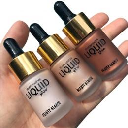 1 PC Urody Ciecz Wyróżnienia Makijaż Shimmer Wyróżnienia Cream Concealer Twarzy Blask Ultra skoncentrowany