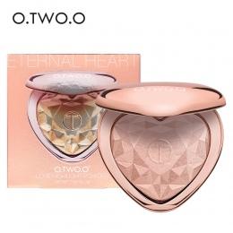 O. DWA. O Shimmer Highlighter Powder Palette Twarzy Konturowe Makijaż Kulminacyjnym Twarzy Bronzer wyróżnienia Rozjaśnia Skórę 4