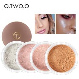 O. DWA. O Wyróżnienia Makijaż Contour Palette Makijaż Oczu Luźne Proszku Brokat Złoty Makijaż Paleta Sypki