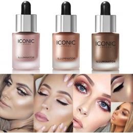 Twarz Wyróżnienia Cieczy długotrwałe Elixir Rozjaśnić Bronzers Oświetlacz Makijaż Shimmer Glow Shiny Twarzy Kosmetyczne Wyróżnie