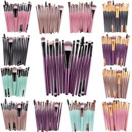 MAANGE Pro 15 Sztuk Zestaw Do Makijażu Pędzle Eye Shadow Fundacja Powder Rzęsy Eyeliner Lip Make Up Brush Kosmetyczne Beauty Too