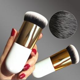 2018 Nowy Chubby Molo Szczotka Fundacja Płaskie Cream Makeup Pędzle Profesjonalne Kosmetyki Make-up Szczotki Dropshipping