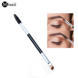Mtssii Marka Pokój Brwi Szczotka + Grzebień do Brwi uroda kosmetyki szczotki pędzle do makijażu brwi brwi Szczotki blending eye