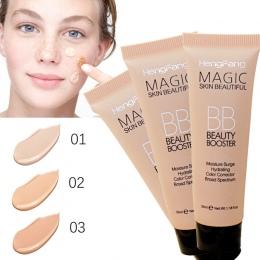 2018 Nowy Rozjaśnić Baza Makeup Kit Słońce Bloku Trwałe Wodoodporne Twarzy Whitening Fundament Marki Hengfang BB Cream