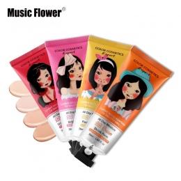 Muzyka Kwiat Marka BB & CC Cream Koreański Makijaż Twarzy Baza Ciecz Fundacja Makijaż Korektor Nawilżający Wybielanie Kosmetyki