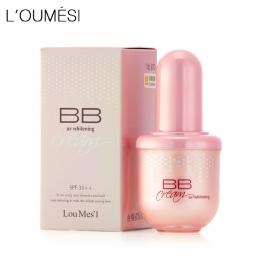 Loumesi hydrating krem bb makijaż fundacja korektor krem nago makijaż natural idealne pokrywa bb cc krem 45 ml