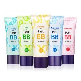 HOLIKA HOLIKA Petit BB Cream 30 ml 8 Typu Fundacja Baza BB CC Krem Idealne Pokrywa Holi Pop Korektor BB Cream Korea kosmetyczne