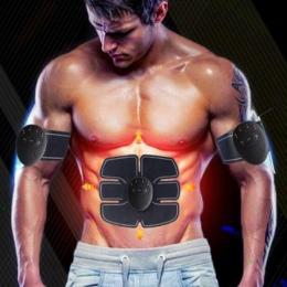 Maszyna brzucha elektryczny stymulator mięśni ABS ems Trener fitness odchudzania Masaż wyszczuplający Do Ciała z miękkim polu de