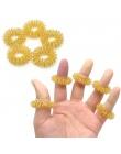 Gorąca Sprzedaż Palec Masaż Pierścień Akupunktura Pierścień Opieki zdrowotnej Masażer Ciała Relax Masaż Dłoni Palec schudnąć C14
