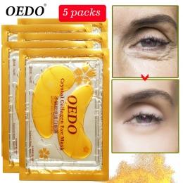 10 sztuk = 5 pack Anti-Aging Złoty Kryształ Collagen Eye Mask Skin Care Obturatory Krystalicznie Piękno Anty mroczny Krąg Anty-o