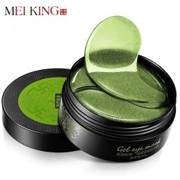 Collagen Crystal Eye Mask Żel MEIKING Obturatory 60 sztuk Do Pielęgnacji Oczu sen Maski Torba Eye Wrinkle Remover Ciemny Dircles