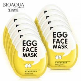 BIOAQUA Jajko Kontrola Oleju Rozjaśnić Owinięte Twarzy Maski Maska Nawilżająca Maska nawilżająca maska Do Pielęgnacji Skóry Prze