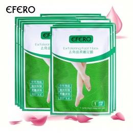 EFERO 4 pc = 2 Pack Peeling Maska do Stóp Złuszczający Skarpetki dla Pedicure Skarpetki Stopy Dziecka Maski na Nogi Krem dla Obc