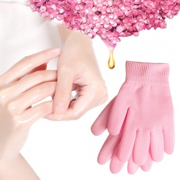 Żel spa rękawice nawilżający wybielanie złuszczający różowy maska ageless uroda ręcznie maska rąk pielęgnacja skóry wysokiej jak