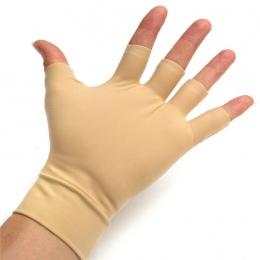1 para Zmywalny Nylon Elastan Przeciwzapalne Ręcznie Kompresji Rękawice Zapalenie Stawów Ulga Rękawice Fitness