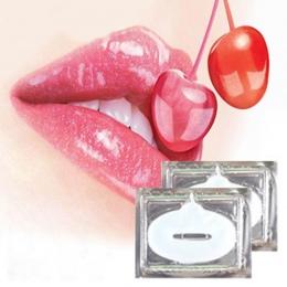 5 sztuk Wzmacniacz Lip Mask Kryształ Kolagenu Usta Maska Patches Klocki Wargi Plumper Anty Zmarszczki Nawilżający Lip Care Beaut