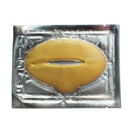 10 sztuk Kobiety Wargi Maski Złota Sexy Kryształ Lip Membrana Kolagen Wilgoć Istotą Wargi Plumper Maska dla Lip Care Kosmetyczne