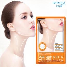 10 Sztuk BIOAQUA Neck Mask Anti Aging Wybielanie Mocny Lifting Ujędrniający Nawilżający Ujędrniający Neck Neck Maski Zestaw Do P