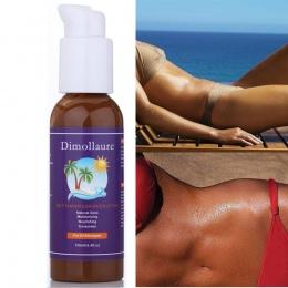 Naturalne Ciało Bronze Własna Tan Tanning Słońce Zwiększenia Tanner Balsam Balsam 100 ml Dzień Solarium Krem Krem Do Opalania Su