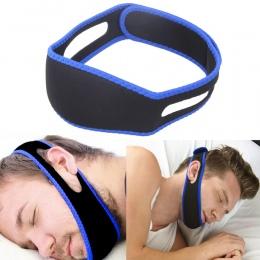 Anty Chrapanie Chin Strap Zatrzymaj Chrapanie Snore Bezdech senny Pasa Wsparcie brodzie Pasy dla Człowieka Kobieta Health care Ś