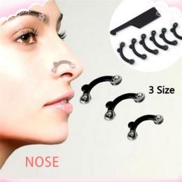 6 Sztuk/zestaw 3 Rozmiary Shaper Masaż Kosmetyczny Nos Podnoszenia Mostu Nosa Kształtowania Klip Clipper Narzędzie Bez Bólu Kobi