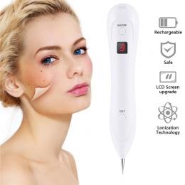 LED 6 Poziom Laserowe Usuwanie Freckle Usuwanie Mol Skóry Ciemna Plama Tatuaż Usuwanie Brodawek Tag zmywacz do Twarzy Pen Salon