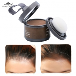 MAYCHEER 4 Kolor Włosów Puszyste Proszku Natychmiast Czarny Korzeń Cover Up Natural Natychmiastowy Linii Włosów Cień Proszku Wło