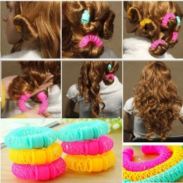 8 sztuk Nowy Magia Włosów Pączki Stylizacja Włosów Roller Hairdress Magia Bendy Lokówki Spiralne Loki DIY Narzędzie dla Kobiety