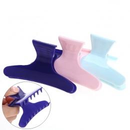 3 sztuk/paczka Kolorowe Motyl Gospodarstwa Włosy Zaciski Klipy Pazur Sekcja Styling Tools Narzędzia Fryzjerskie