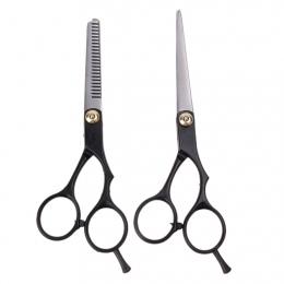 2 sztuk Fryzjer Degażówki Nożyce Do Cięcia Włosów Przecinka Nożyce Do Cięcia Włosów Nożyczki Ze stali Nierdzewnej Zestaw Salon P