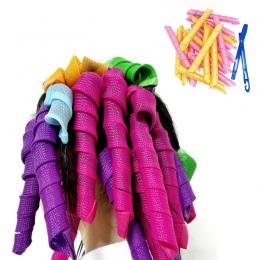 Automatyczne Włosów Lokówki Zerowej Uszkodzenia Włosów Lokówki Bendy Walce Roller Curl Włosów DIY Magia Włosów Lokówki Narzędzie