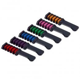 Mini Jednorazowego Użytku Osobistego Użytku Salonie Do Farbowania Włosów Grzebień Profesjonalnych Kredek Dla Kolor włosów Kreda