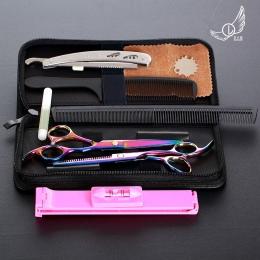 6 cal Cięcia Przecinka Narzędzie do Stylizacji Włosów Salon Fryzjerski Nożyce Profesjonalne nożyczki fryzjerskie Nożyczki Ze Sta