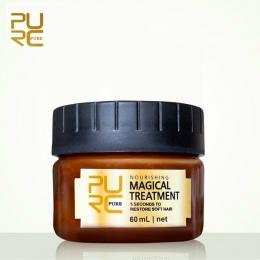 PURC Magiczne leczenie maska 5 sekund Naprawy uszkodzenia przywrócić miękkie włosy 60 ml dla wszystkich rodzajów włosów keratyny