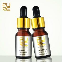 Marokański czysty olej arganowy do pielęgnacji włosów 2 sztuk 10 ml Włosów Oil treatment dla wszystkich rodzajów włosów Leczenie
