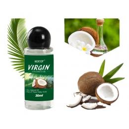 30 ml VIRGIN Olej Kokosowy Wyciąg Tłoczony Na Zimno Naturalny Zdrowy Olej do Włosów i Pielęgnacji skóry/Usuwania Makijażu/ ciało