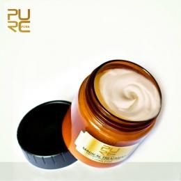 PURC Magiczne leczenie maska do włosów Odżywianie Wlewu Masque do 5 sekund Naprawy uszkodzenia włosów przywrócić miękkie włosów