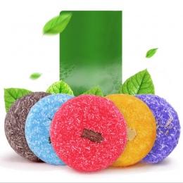 5 Kolorów Handmade Włosów Szampon Szampon Mydło Na Zimno Przetworzonych Cynamonu Bar 100% Czysta Włosów Szampony Do Pielęgnacji