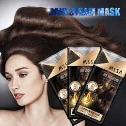 Nowy Automatyczne Ogrzewanie Parowa Włosów Maska Do Włosów Keratyny Traktowanie Włosy Grubej Suche Rozdwajaniu Make Włosów Wygła