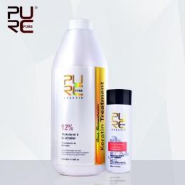12% brazylijskiej keratyny traktowania i 100 ml głębokie cleanning Formalina szampon hurtownie Profesjonalny salon fryzury pielę