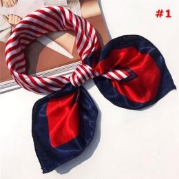 Małe Rocznika Miękkie Mody Silk Plac Szalik Szaliki Eleganckich kobiet krawat Bandany Okład Głowy Głowy Szyi Szal Szalik Akcesor