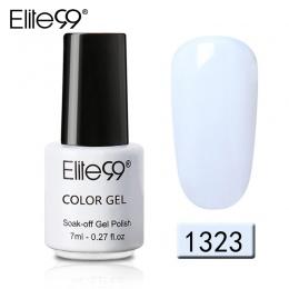 Elite99 7 ml Pure Color Gel Nail Polski Najwyższej Baza Płaszcz Trzeba Długotrwałe Żel UV LED Lakiery Soak Off gelpolish Lakier