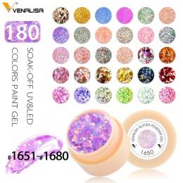 Venalisa CANNI Fabryka Dostaw 180 Kolory UV/Żel UV LED Rozkoszować się Profesjonalny Salon Paznokci Farby