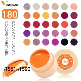Venalisa Żel UV Nowy 2018 Projektowanie Nail Art Porady Manicure 180 Kolor UV LED Rozkoszować się DIY Farby Tusz Żelowy UV Żel D